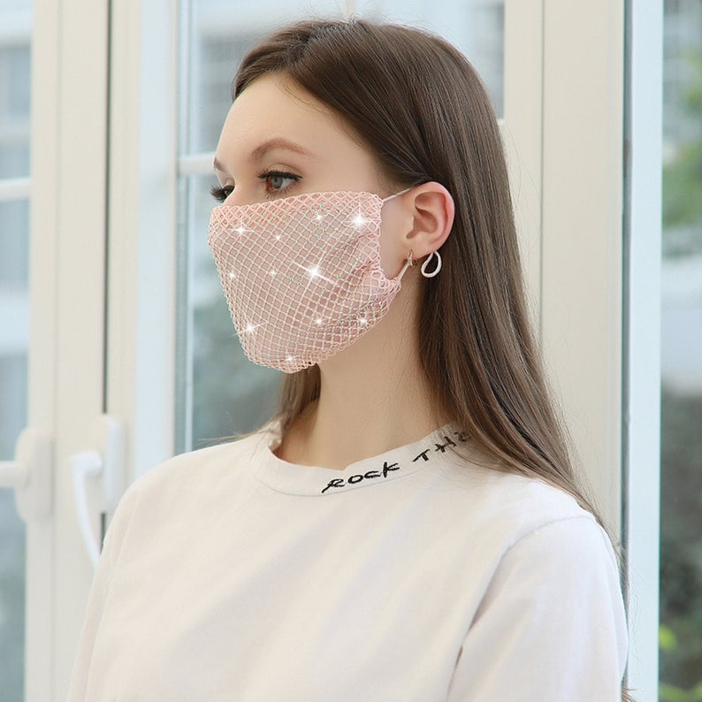 breathable lightweight masks from etsy