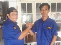 Silaturahmi Ketua GNI Labuhan Batu dengan Ketua GNI Kota Medan