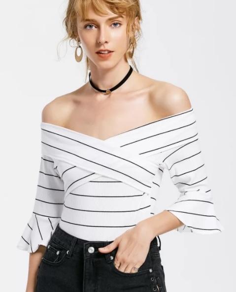 Bodysuits striped