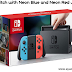 Nintendo Switch with Neon Blue and Neon Red Joy Console - Amazon