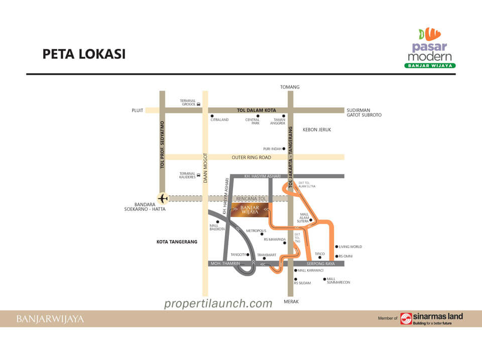 Lokasi Pasmod Banjar Wijaya
