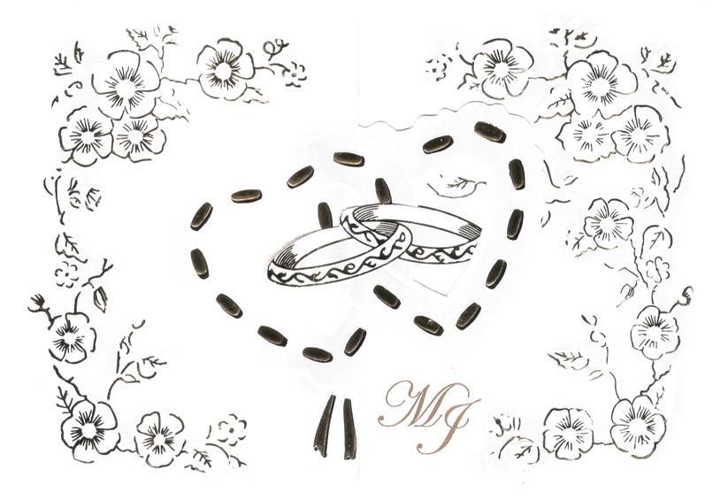 Graphic Designers: Diseño de una Invitación de Boda con