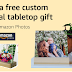 Free Custom Aluminum Panel Photo Print With Wood Base  - Amazon Prime Member Deal.
