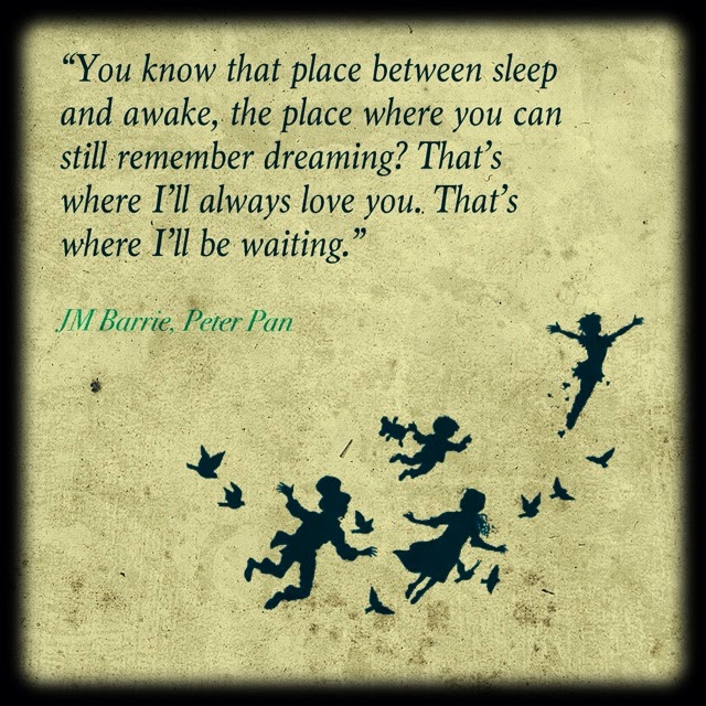 Peter Pan Quotes: The Writes Of Passage