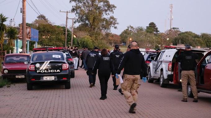 Após crime em Dom Pedrito, Polícia Civil deu início as investigações que resultaram na Operação Faxina