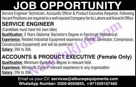 Jobs Opportunity in Lahore Apply via Email - 26 Oct 2018