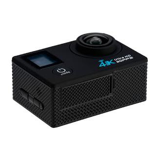 pro cam wifi 4k doppio screen lcd