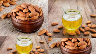 oil for hair growth and hair fall is Almond oil