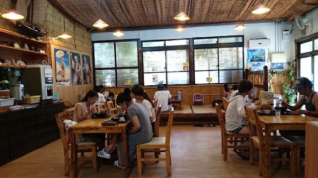 自家製麺の店 番所亭の店内の写真