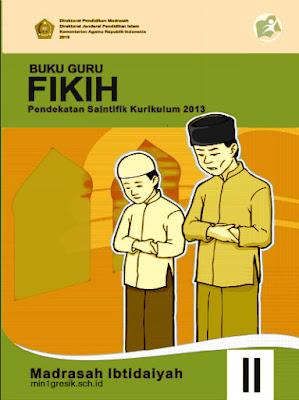 buku guru mata pelajaran Fikih kelas 2 MI Kurikulum 2013