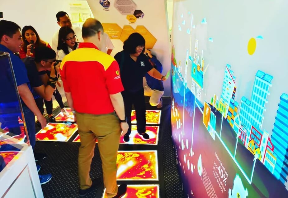 Pilipinas Shell Malampaya Augmented Reality Exhibit