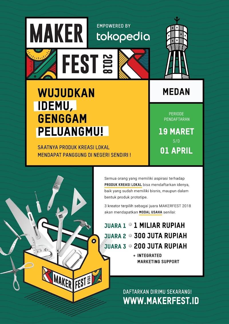 Maker Fest bersama Tokopedia Dorong Kreator Lokal Jadi Brand Nasional yang Mendunia
