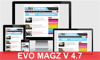 Download Template Evo Magz 100% Original