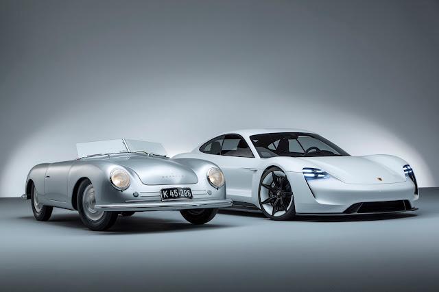 "Porsche 356 ""No.1"" Roadster, Porsche Mission E"