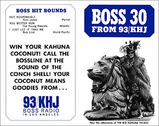 KHJ Boss 30 No. 48 - The Big Kahuna with El Monte Lion