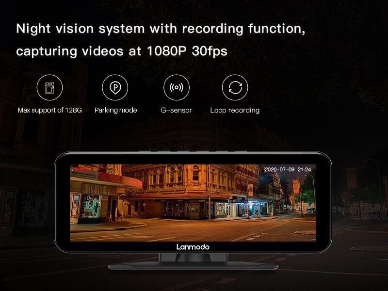 جهاز Lanmodo Vast Pro ... الكاميرا الأمثل لسيارتك