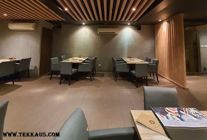 Zen-like interior design at Wa Zen Melaka