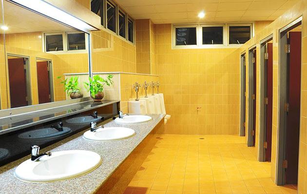 Toilet kantor yang baik