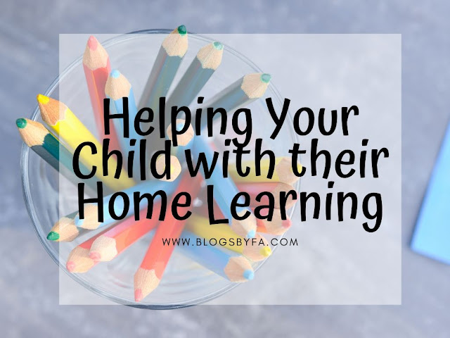 Helping Your Child with their Home Learning