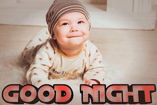 Good night baby image with quotes, good night baby image
