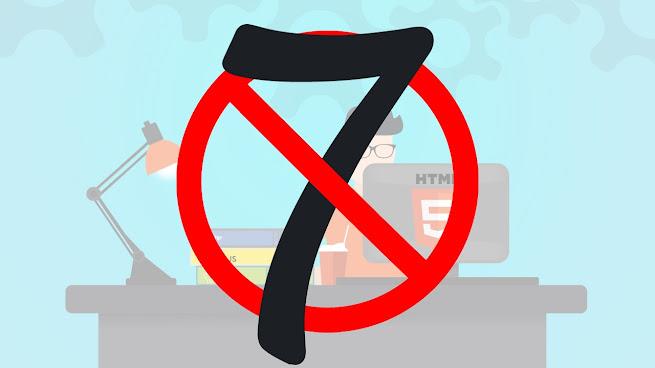 أسوء 7 أخطاء يجب أن تتجنبها في تصميم موقعك