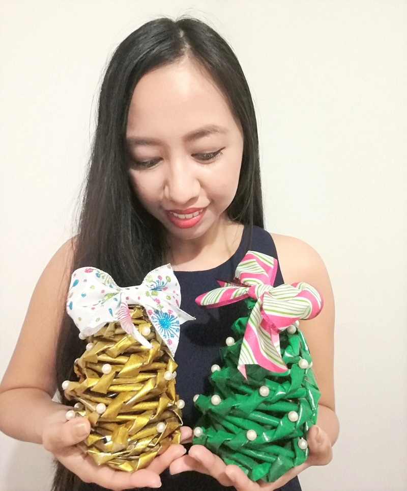 paper Christmas tree, DIY Christmas decor