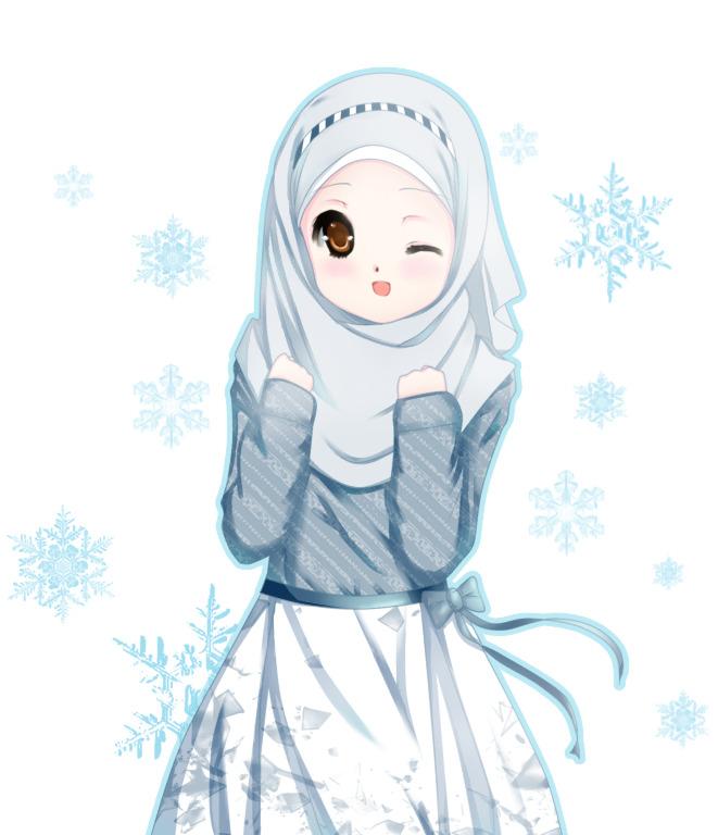 Kartun Muslimah Lucu Unyu