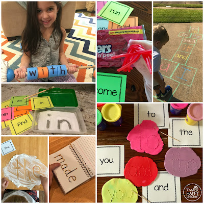 Sight word activities and ideas for school or home