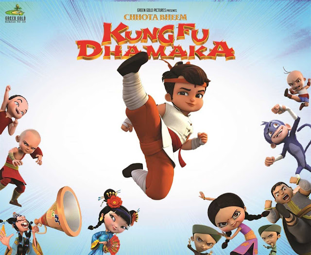 'Chhota Bheem - Kung Fu Dhamaka' Movie Premier in 3D on Pogo Tv