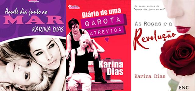 Livros da autora Karina Dias
