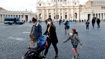 As Italy's coronavirus cases mount, Pope Francis to deliver Sunday service by livestream