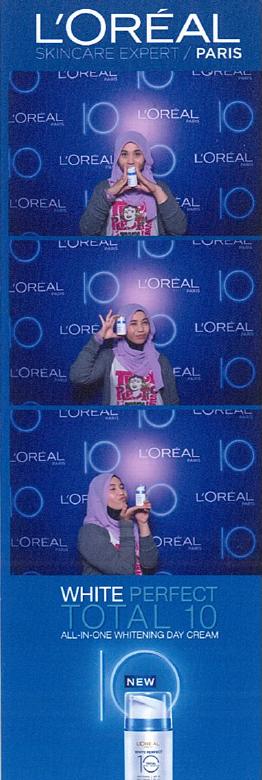 L'Oreal Paris White Perfect 10 Photobooth