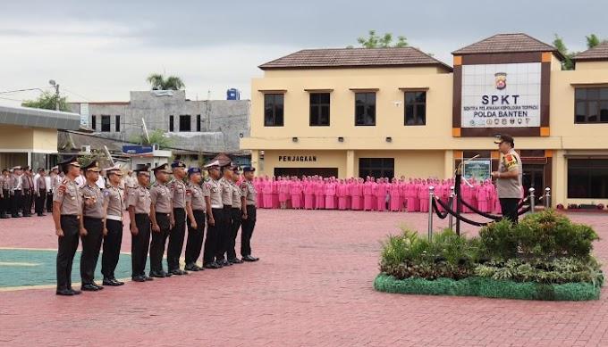 Akhir Tahun 2019, 987 Personel Polda Banten Dapat Kenaikan Pangkat