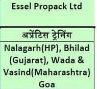 ITI Apprentice Campus Placement At Madhav ITI College Gwalior (M.P) For Company Essel Propack Ltd