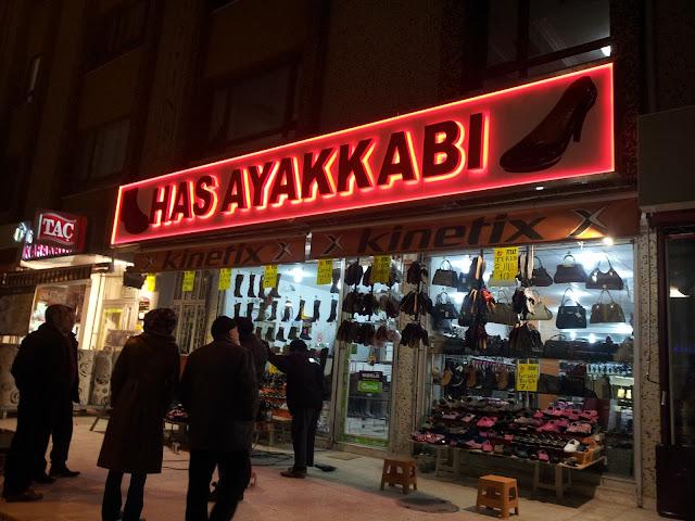 Ankara Ayakkabı Mağazası Tabela Tasarımları - Ankara Tabelacı