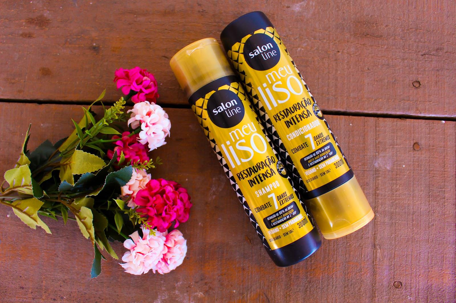 Shampoo e Condicionador Restauração Intensa da Salon Line
