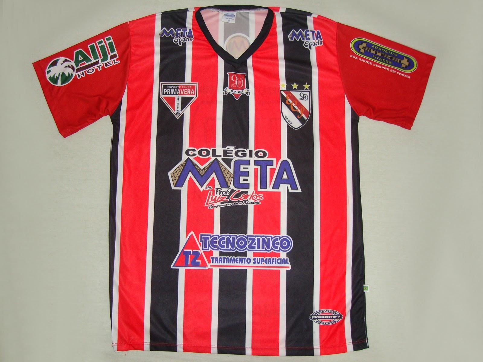 16d557b671 Esporte Clube Primavera (SP) - Show de Camisas