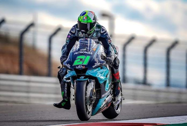 Morbidelli Juara motoGP Alcaniz Aragon 2020