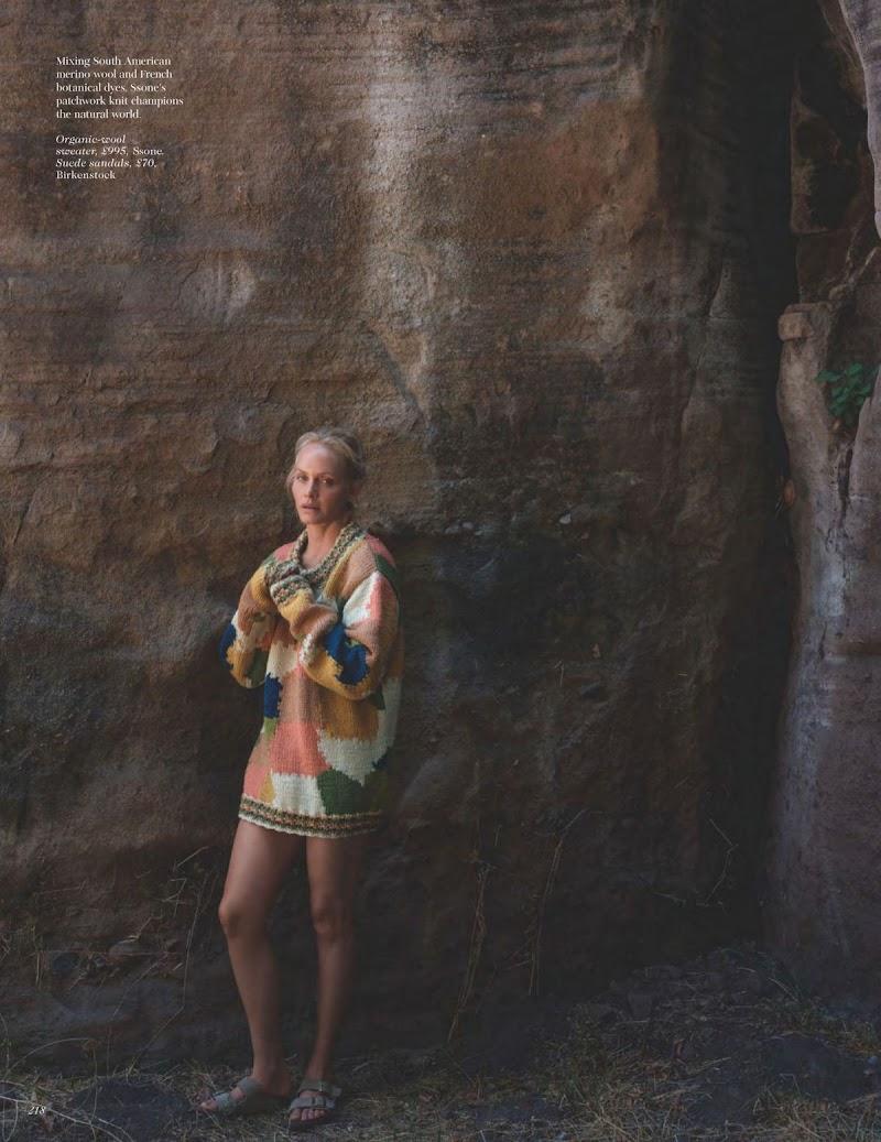 Amber Valletta Featured in Vogue Magazine - November 2020