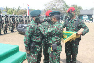 746 Prajurit Yonif 114/ Satria Musara, Resmi Berkualifikasi Raider
