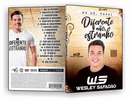DVD - Wesley Safadao Diferente Nao Estranho - ISO