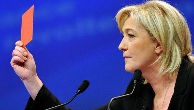 Μαρίν Λεπέν κατά Χίλαρι Κλίντον: «Εκλογή της σημαίνει πόλεμος, καταστροφή και παγκόσμια αποσταθεροποίηση»