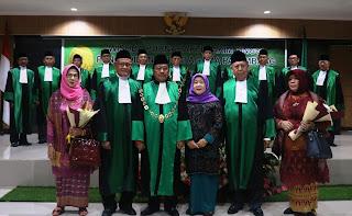 Wisuda Purnabakti Hakim Tinggi  Pengadilan Tinggi Agama Palembang Tahun 2019