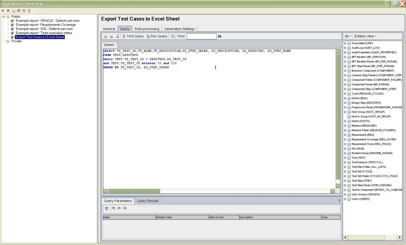 Export Test Cases From Qc To Excel Using Vbscript - tampaseven