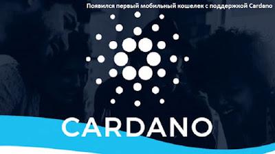 Появился первый мобильный кошелек с поддержкой Cardano