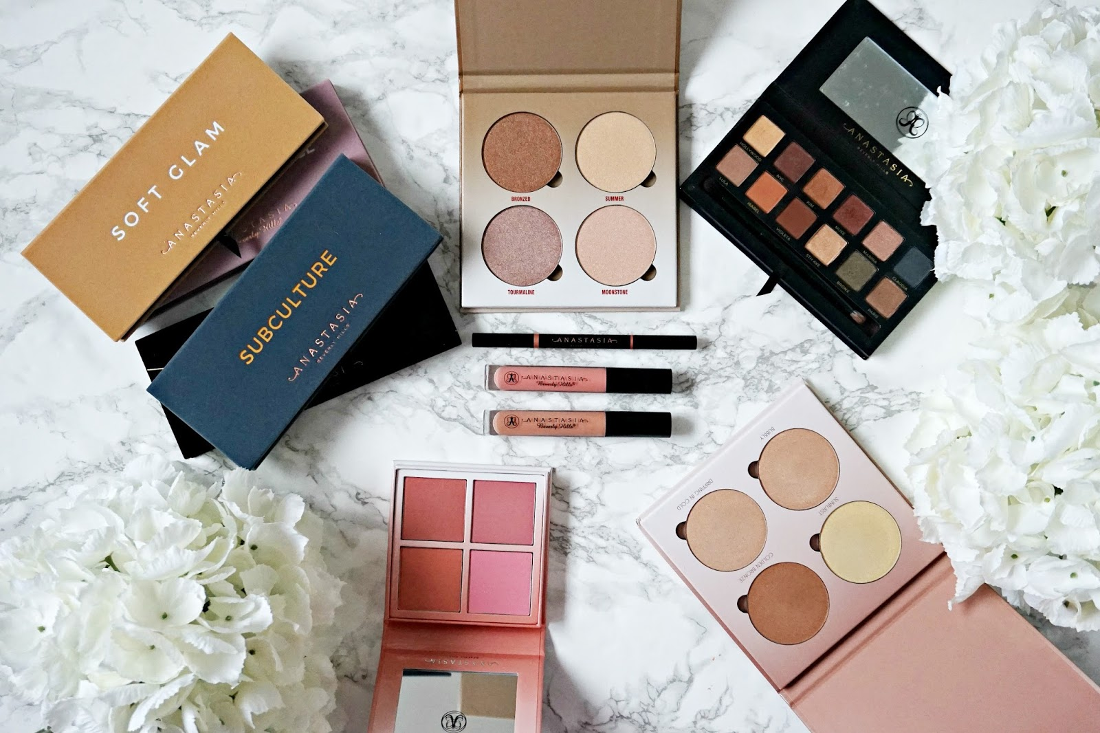 Top 5 Anastasia Beverly Hills products, Soft Glam Review