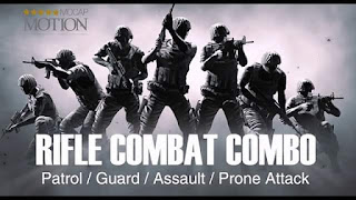 Motion Pack - Rifle Combat COMBO