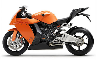 New 2016 KTM 1190 RC8R orange color