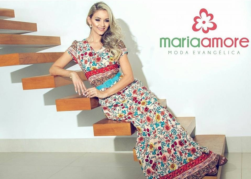 2aa39510a Hoje estarei compartilhando a loja Maria Amore, para quem já conhece, sabe  quantos modelos lindos a loja tem, como por exemplo: saias, blusas,  vestidos, ...