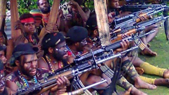 KKB Menantang TNI-Polri, Bikin Markas di Distrik Tembagapura